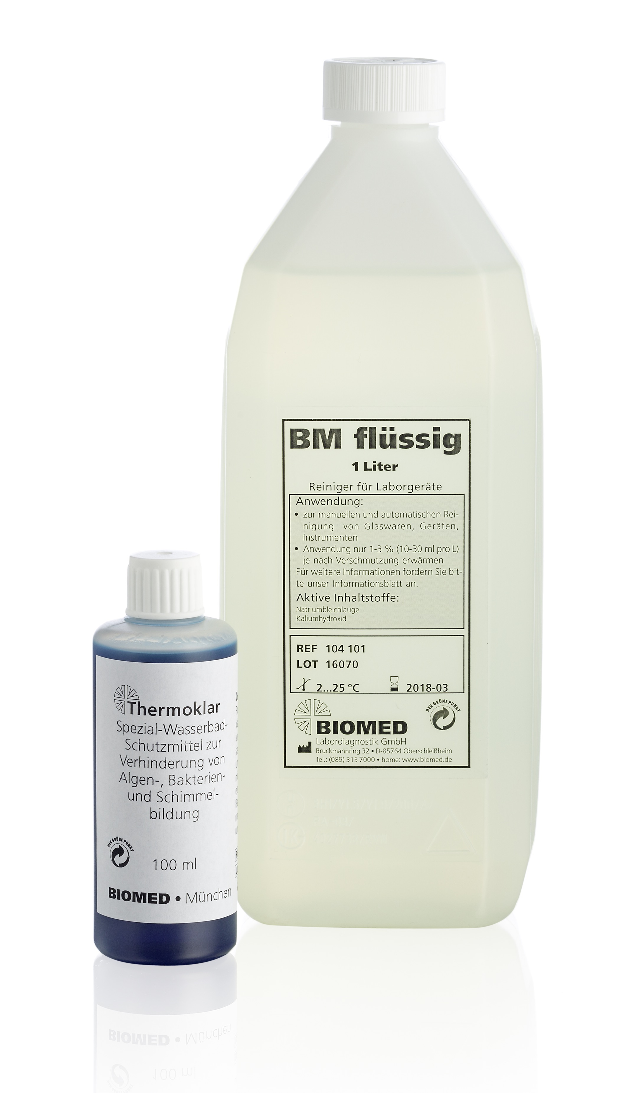 BIOMED Labordiagnostik GmbH: Laborhygiene von BIOMED